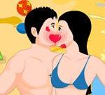 Beach Side Kyss