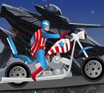 Captain America Harley Tur