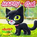 Lykkelig Katt